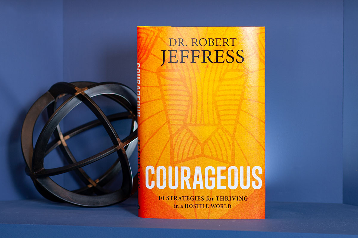 Image result for dr. robert jeffress courageous